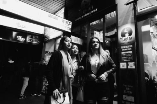 Three Women Outside