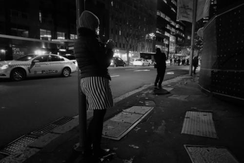 Woman Striped Skirt